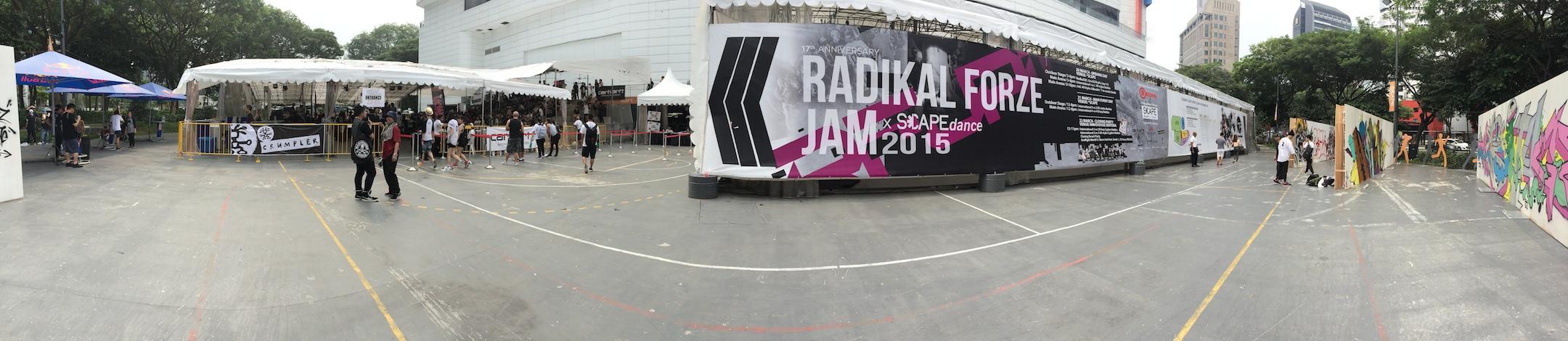 Report on Radikal Forze Jam 2015