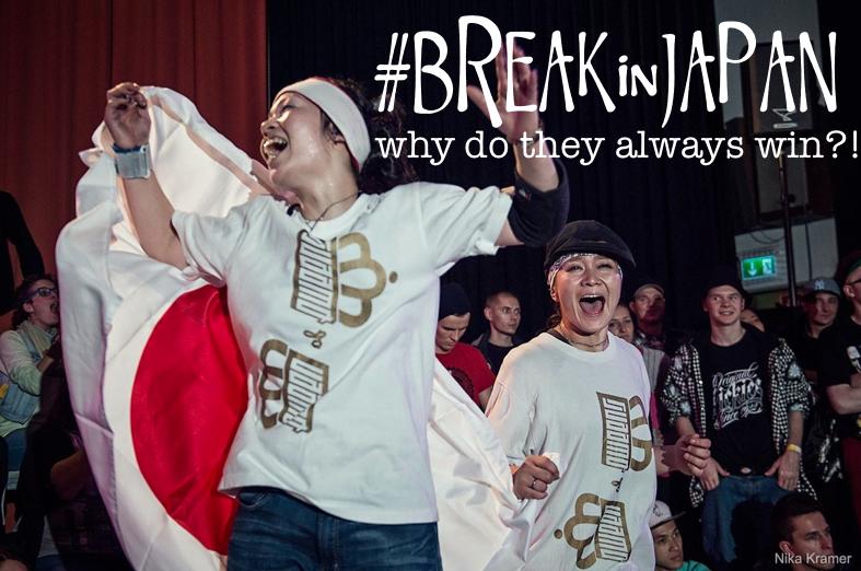 "REPOST#BREAKinJAPAN part 5 ""We B*Girlz battles at BOTY"" – why do the Japanese always win?!"