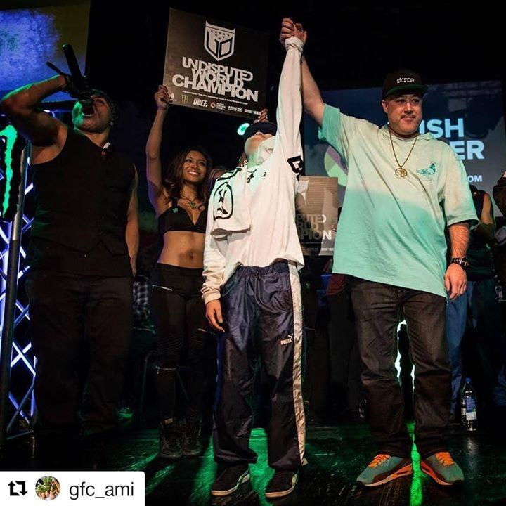 Bgirl Ami wins the Bgirl Battle at the World Bboy Series
