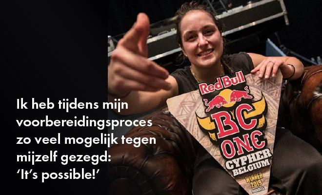 Interview met de Red Bull Belgium Cypher winner Camine (in het Nederlands – English version coming soon)