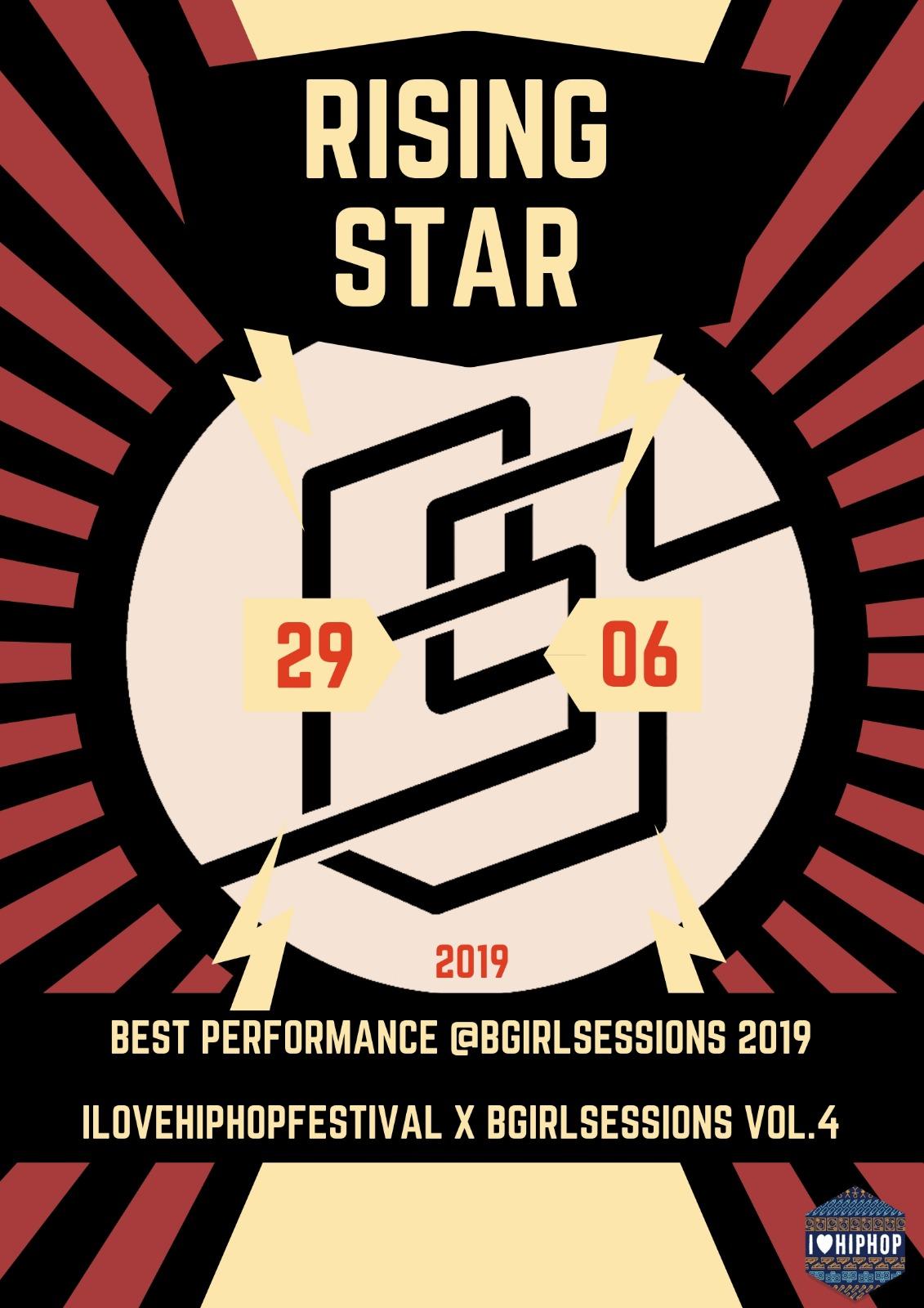 Rising star award @bgirlsessions