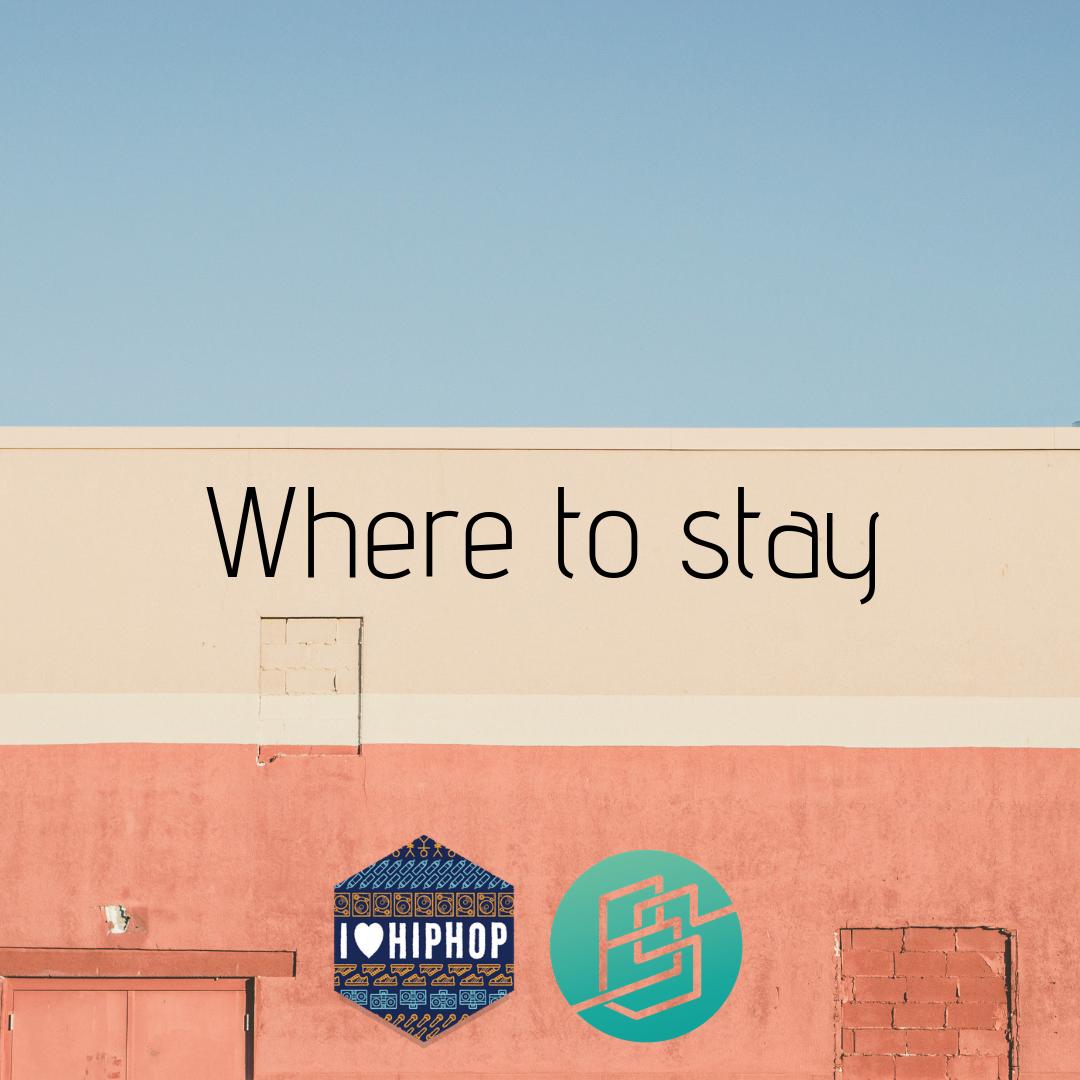 Where to stay #bgirlsessionsbattle